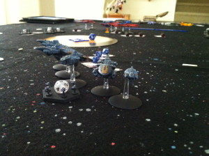 The Terrans maneuver with precision.
