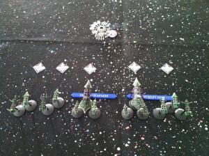 The Chaos fleet deploys.