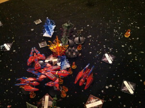 Kharadorn fighters attack Baal.