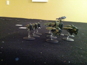 The Mauridians deploy.