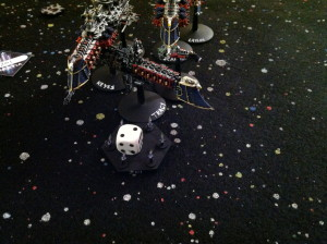 The last of the fighters attack Tracy, to no effect.