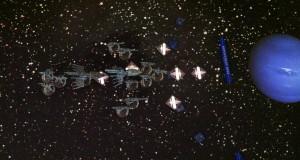 The Eldar approach Neptune.