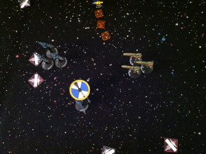 Ba'Nana's squadron moves to engage the Aconites.