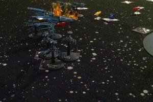 Nightshades destroy Ba'Room with lasers.