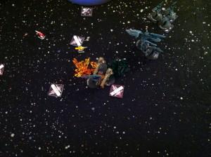 Ba'Nal destroys Yamagumo.