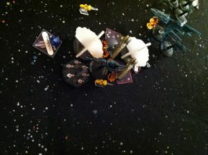 121 Group attack Hayanami.