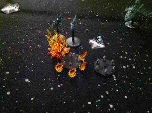 102 Group attack the Aconites, destroys Tokitsukaze.