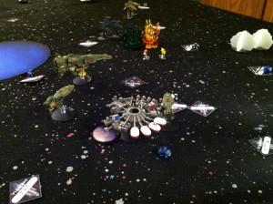 The station destroys Inazuma.