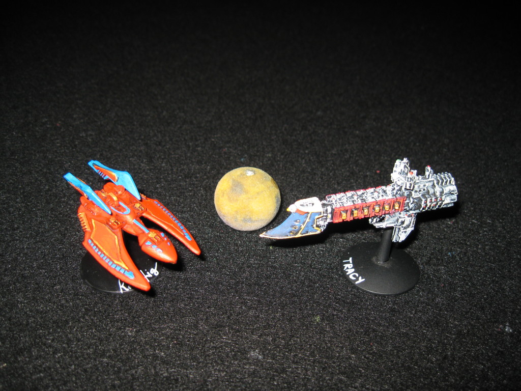 A Karria, Mars, and a Dauntless