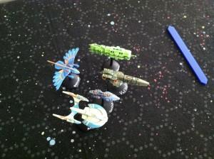 The last five ship classes.