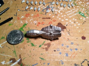 Terran Cruiser right out of the box.