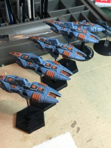 Masada-class destroyers on the workbench